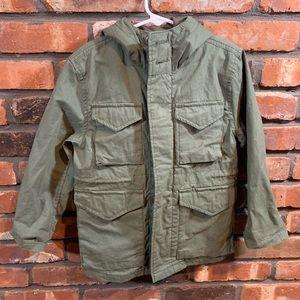 GapKids M65 Jungle Green Hooded Field Jacket